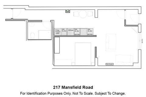Studio to rent - 217 Mansfield Road, NOTTINGHAM NG1 3FS