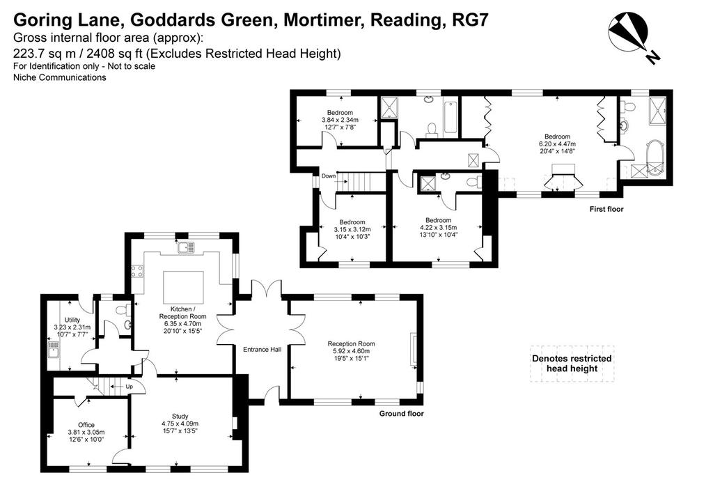 Floorplan: 4 Bed House To Rent