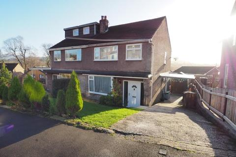 3 bedroom semi-detached house for sale - Parkland Avenue, New Mills, High Peak, Derbyshire, SK22 4DT