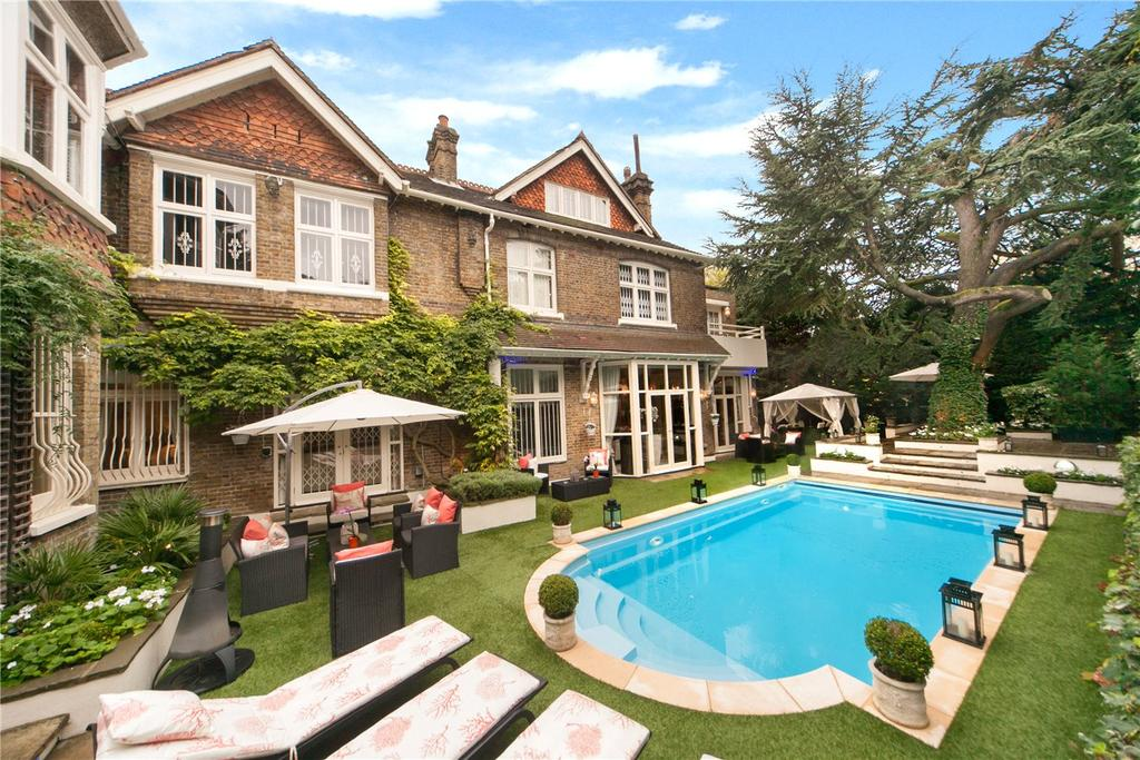 8 Bedrooms House for rent in Hollybank House, Frognal, Hampstead, London, NW3