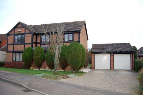 4 bedroom detached house for sale - Hobby Close, East Hunsbury, Northampton NN4 0RN