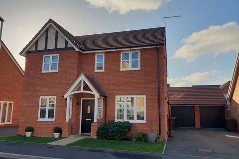 4 bedroom detached house for sale - Harcourt Way, Hunsbury Fields, Northampton NN4 8JR
