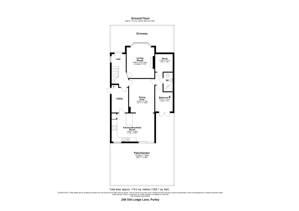 Floorplan 2 of 3: Floor Plan 1