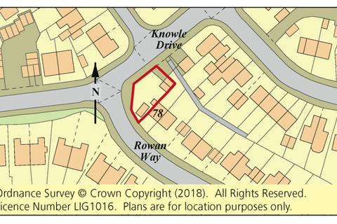 Residential development for sale - Land Adjoining 78 Rowan Way, Exeter, Devon