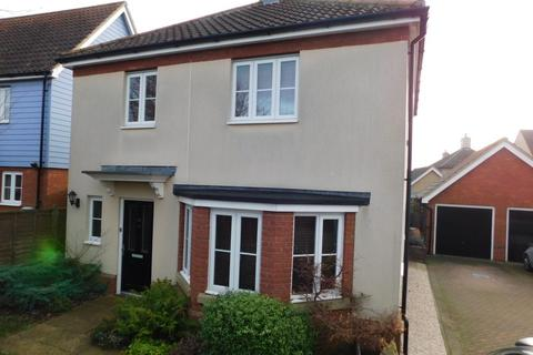 3 bedroom detached house for sale - Eider Close, Stowmarket