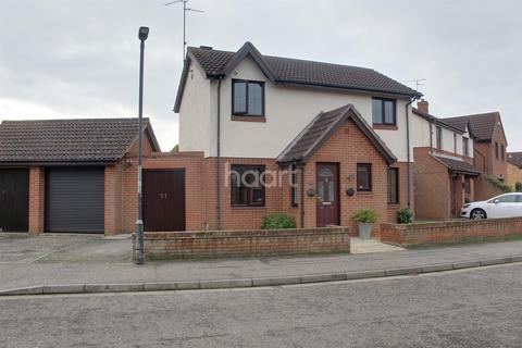 3 bedroom detached house for sale - Baron Court, Werington, Peterborough, PE4