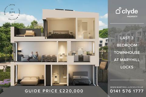 3 bedroom end of terrace house for sale - Lochgilp Street, Maryhill Locks, Maryhill, Glasgow, G20 0UF