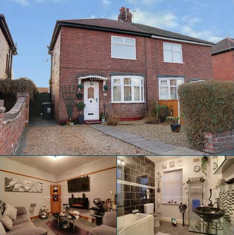2 bedroom semi-detached house for sale - Hallshaw Avenue, Crewe