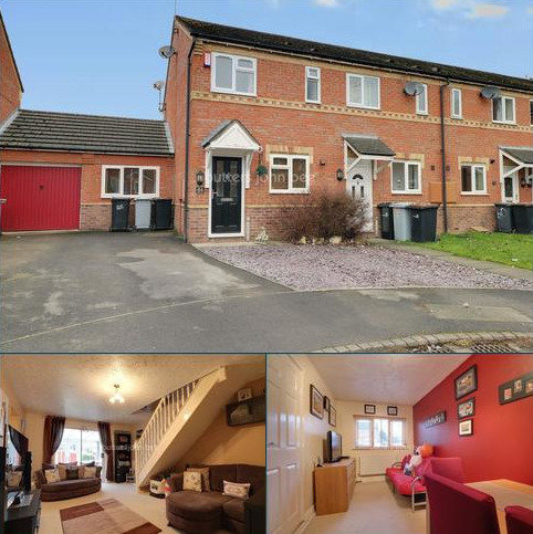 2 bedroom end of terrace house for sale - Coppenhall Grove, Crewe