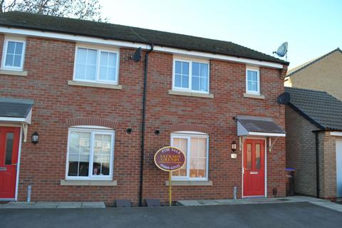 3 bedroom semi-detached house for sale - Damselfly Road, Pineham Village, Northampton NN4 9ET