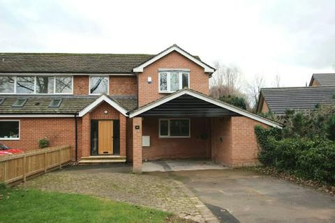 3 bedroom semi-detached house to rent - Blenheim Close, Hale