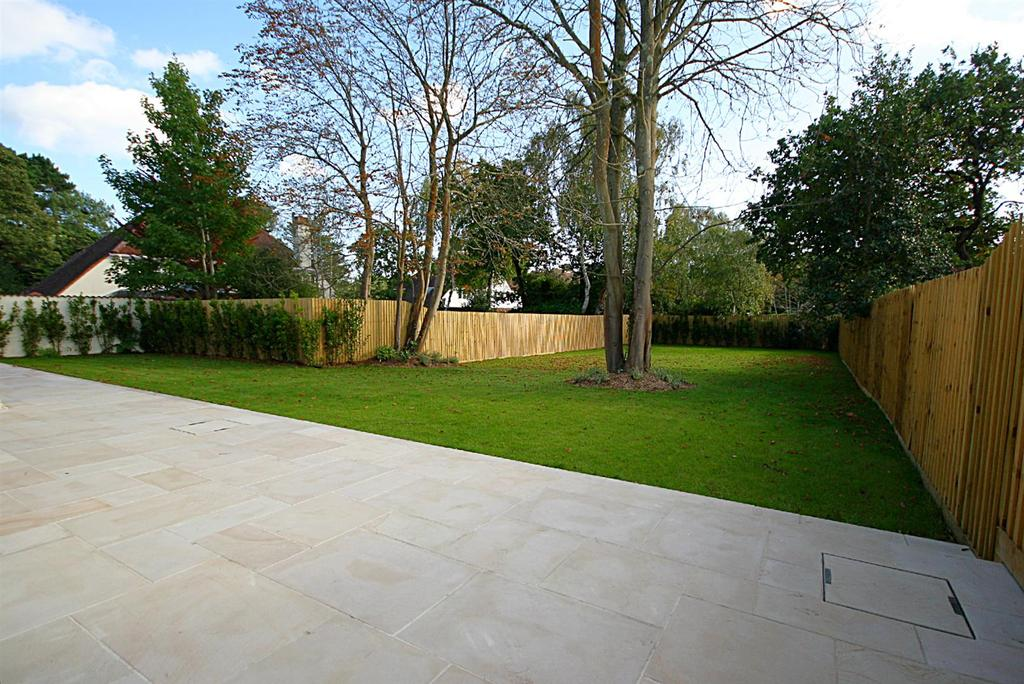 Large south facing garden