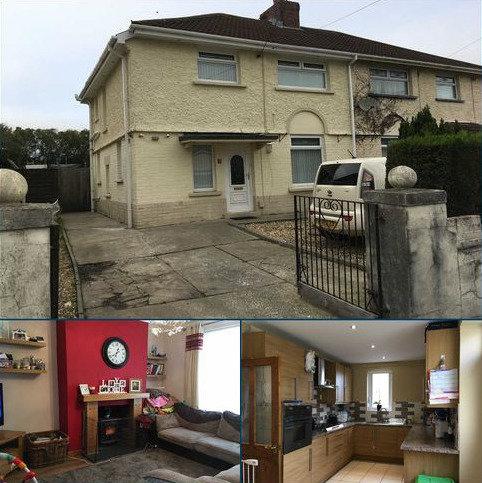 3 bedroom semi-detached house for sale - Brynawel Road, Swansea, SA4