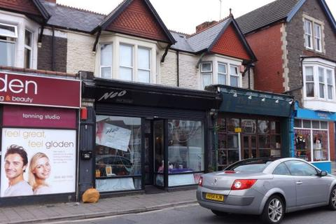 Shop to rent - WHITCHURCH ROAD - A1 Lock up Shop on this busy thoroughfare close to Companies House & University Hospital of Wales