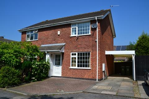 2 bedroom semi-detached house to rent - Heathley Close, Leicester Forest East. LE3