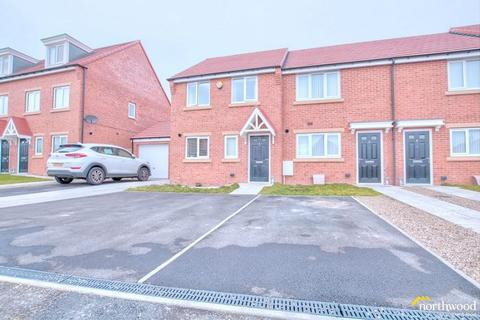 3 bedroom end of terrace house for sale - Colton Row , Burwell Avenue , West Denton , Newcastle Upon Tyne , NE5 2FE