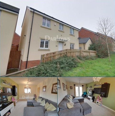 3 bedroom detached house for sale - Meadowland Close, Caerphilly