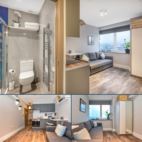 Studio to rent - Castle Street, High Wycombe