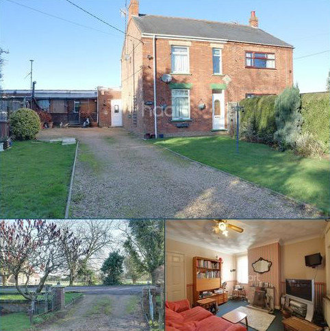 3 bedroom semi-detached house for sale - Tholomas Drove, Wisbech St Mary