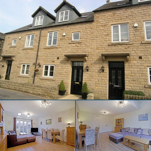 3 bedroom townhouse for sale - Albert Simmons Way, Burley in Wharfedale