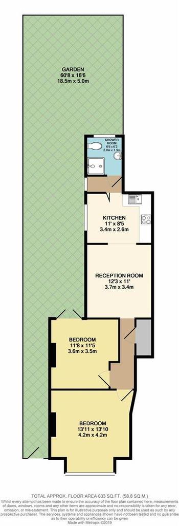 Floorplan: Floor Plan   First Avenue, Enfield EN1 1 BL.JPG