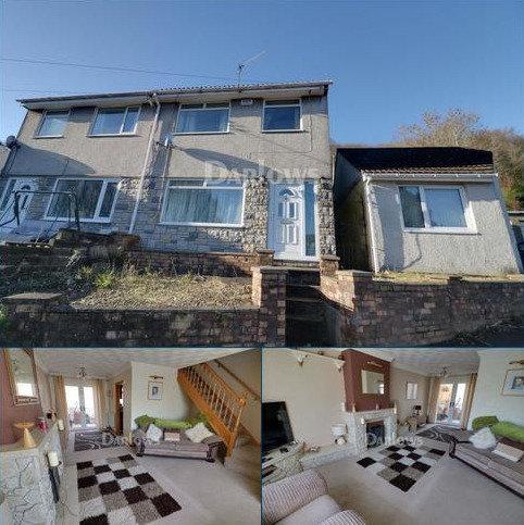 3 bedroom semi-detached house for sale - Coed Y Brain Court, Llanbradach