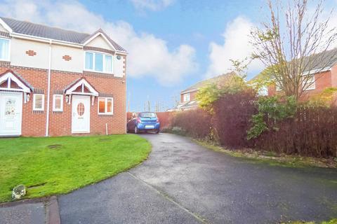 2 bedroom semi-detached house for sale - Silverdale Road, Cramlington, Northumberland, NE23 3LW