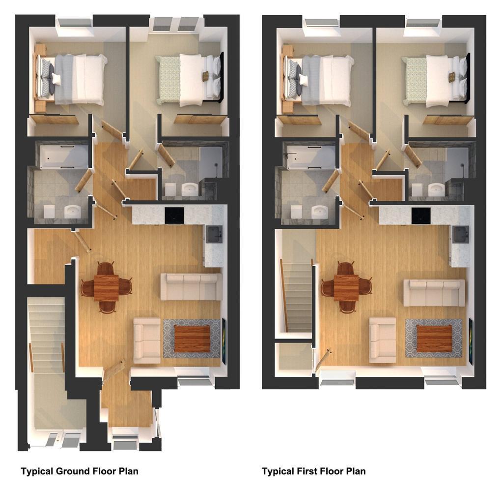 Floorplan 3 of 3: Typical Floor Plans