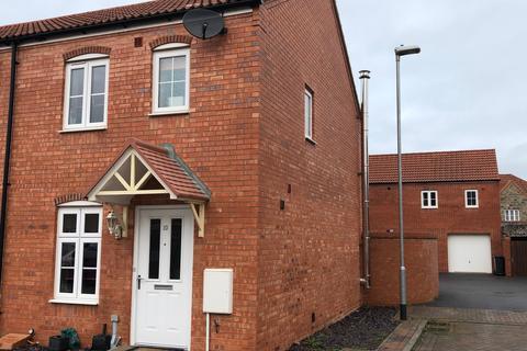 2 bedroom end of terrace house for sale - Compton Close, Glastonbury BA6