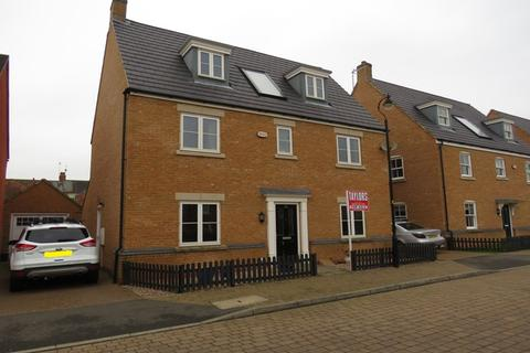 5 bedroom detached house for sale - Digby Close, Duston, Northampton, NN5