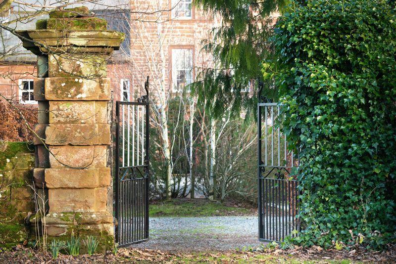 Entrance, Dufton...