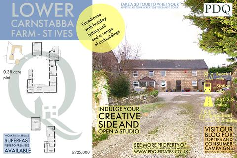 4 bedroom detached house for sale - Lower Carnstabba Farm