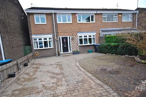 4 bedroom semi-detached house for sale - Brancepeth Close, Newton Hall, Durham