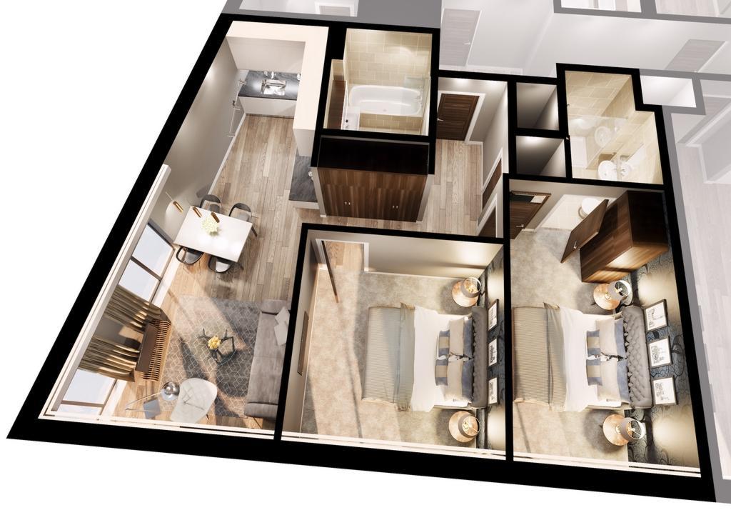 3 D Floorplan