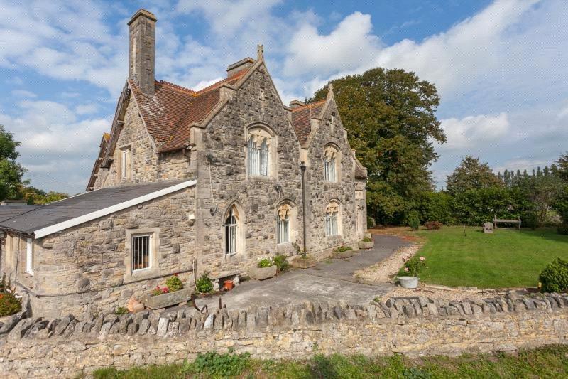 4 Bedrooms Detached House for sale in School Lane, Blackford, Wedmore, Somerset, BS28