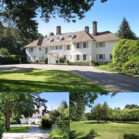 6 bedroom detached house for sale - West Drive, Wentworth, Virginia Water, Surrey, GU25