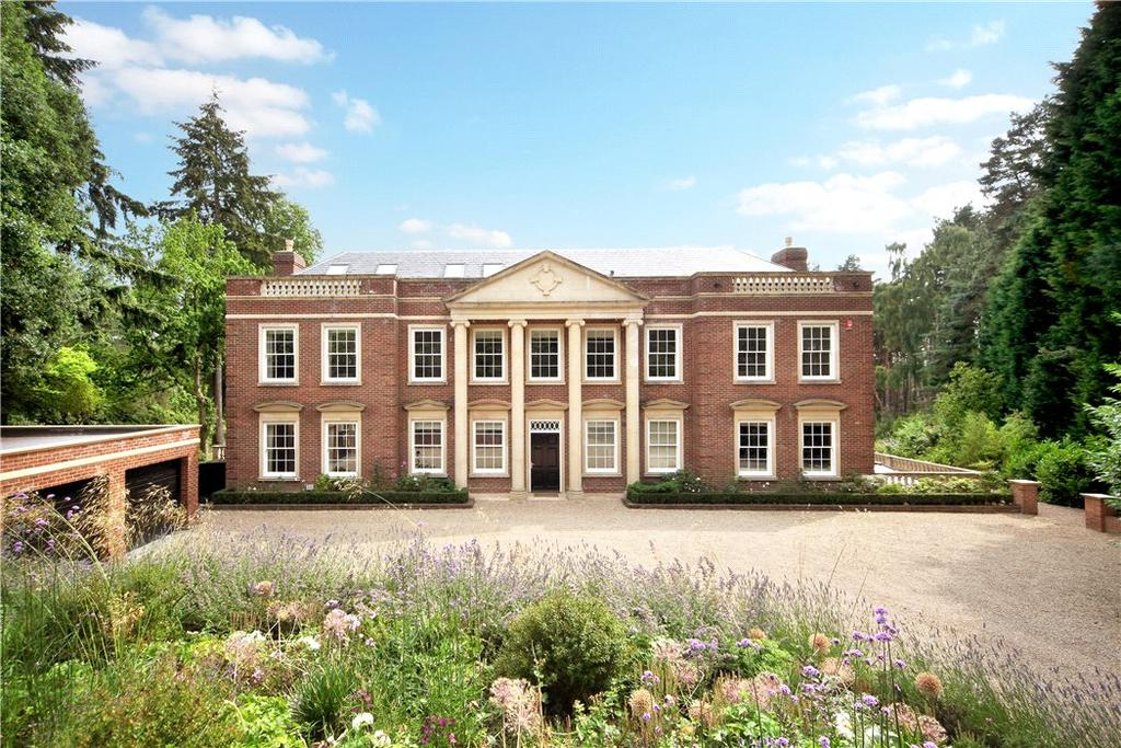 6 Bedrooms Detached House for sale in West Drive, Wentworth, Virginia Water, Surrey, GU25