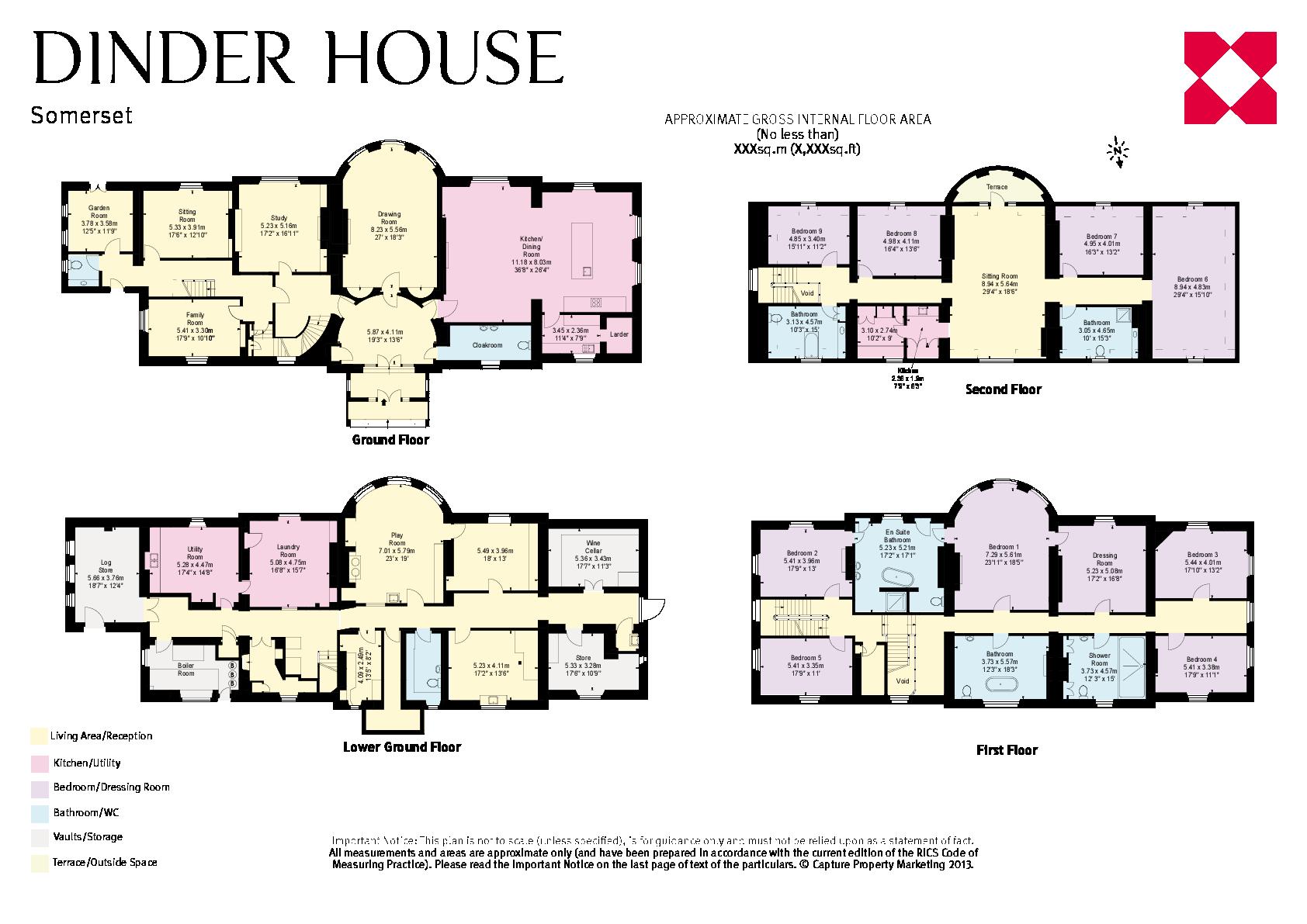 dinder wells somerset ba5 9 bed detached house 4 750 000