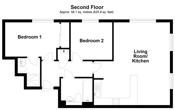 Floorplan: Second Floor