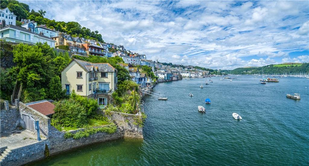 4 Bedrooms Detached House for sale in South Town, Dartmouth, Devon, TQ6