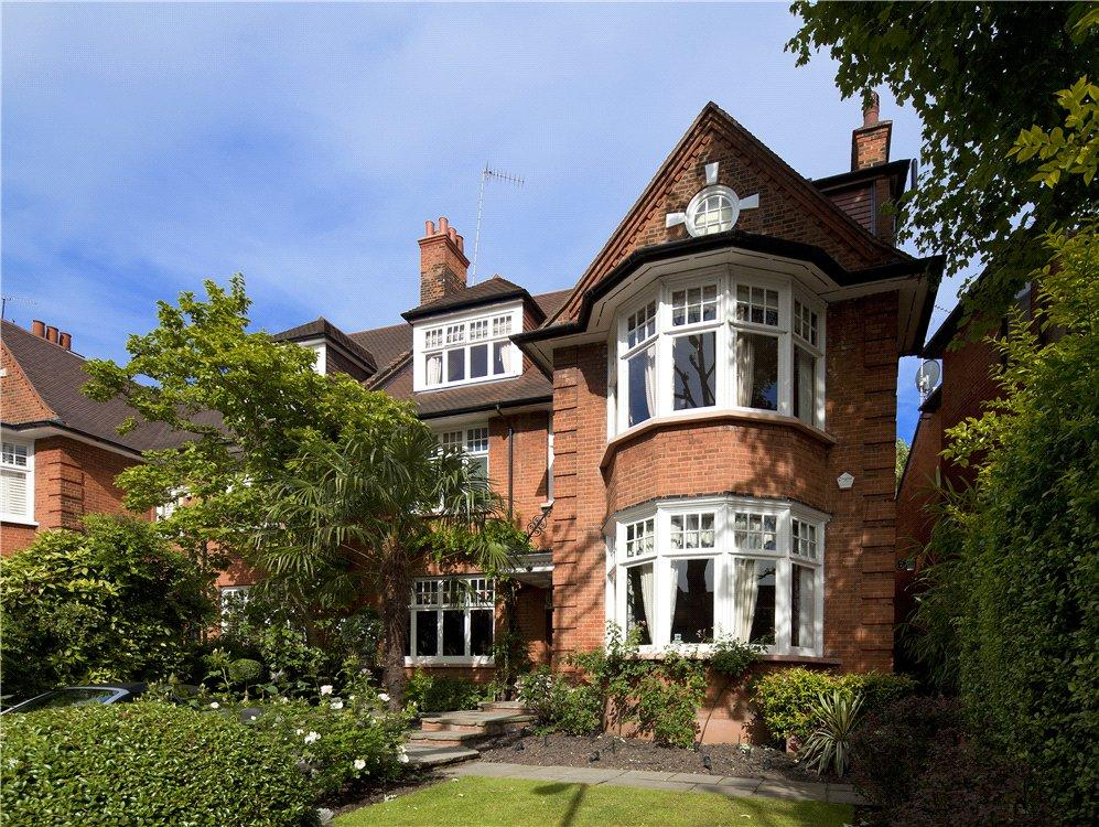 8 Bedrooms Semi Detached House for sale in Rosecroft Avenue, Hampstead, London, NW3