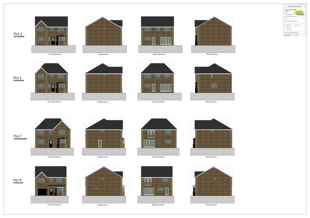 Cotsworld, Wensleydale & Suffolk House Types