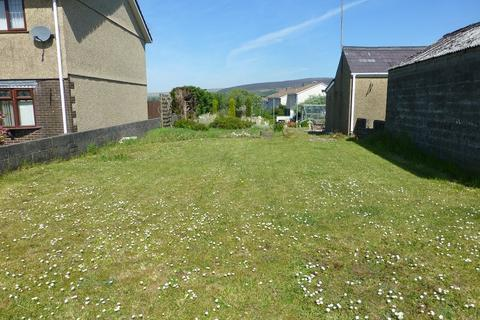 Land for sale - Leyshon Road, Gwaun Cae Gurwen, Ammanford, Carmarthenshire.
