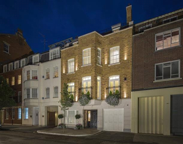 4 Bedrooms Terraced House for sale in Farm Street, Mayfair, London, W1J