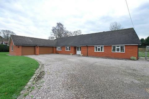 5 bedroom detached bungalow for sale - Daleford lane, Whitegate