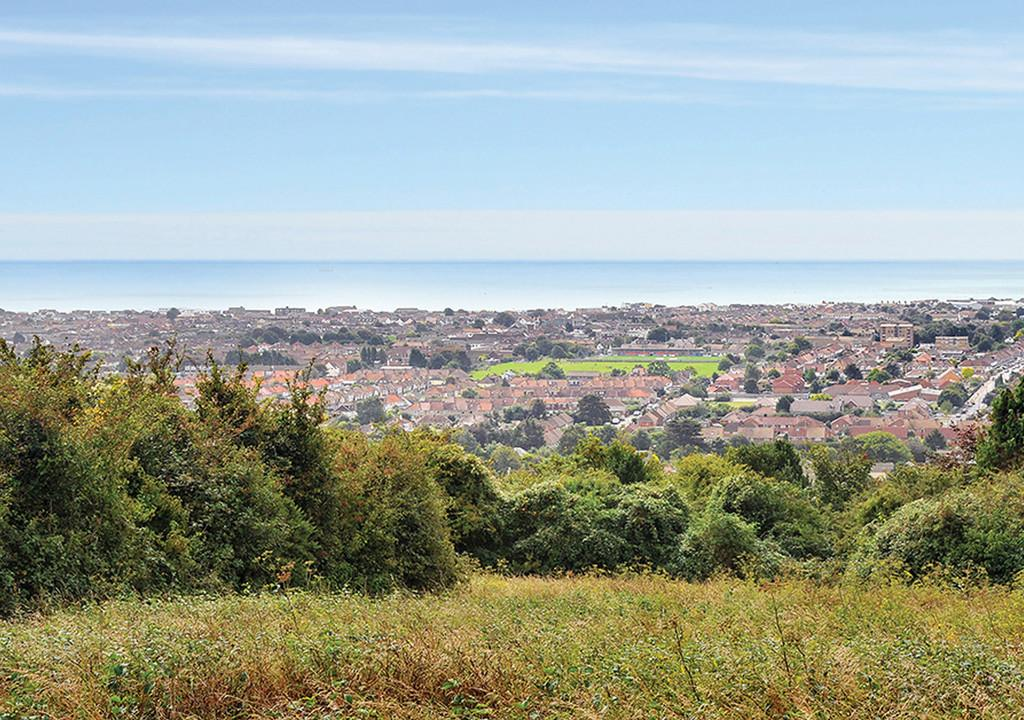 Lancing Area View From The Downs