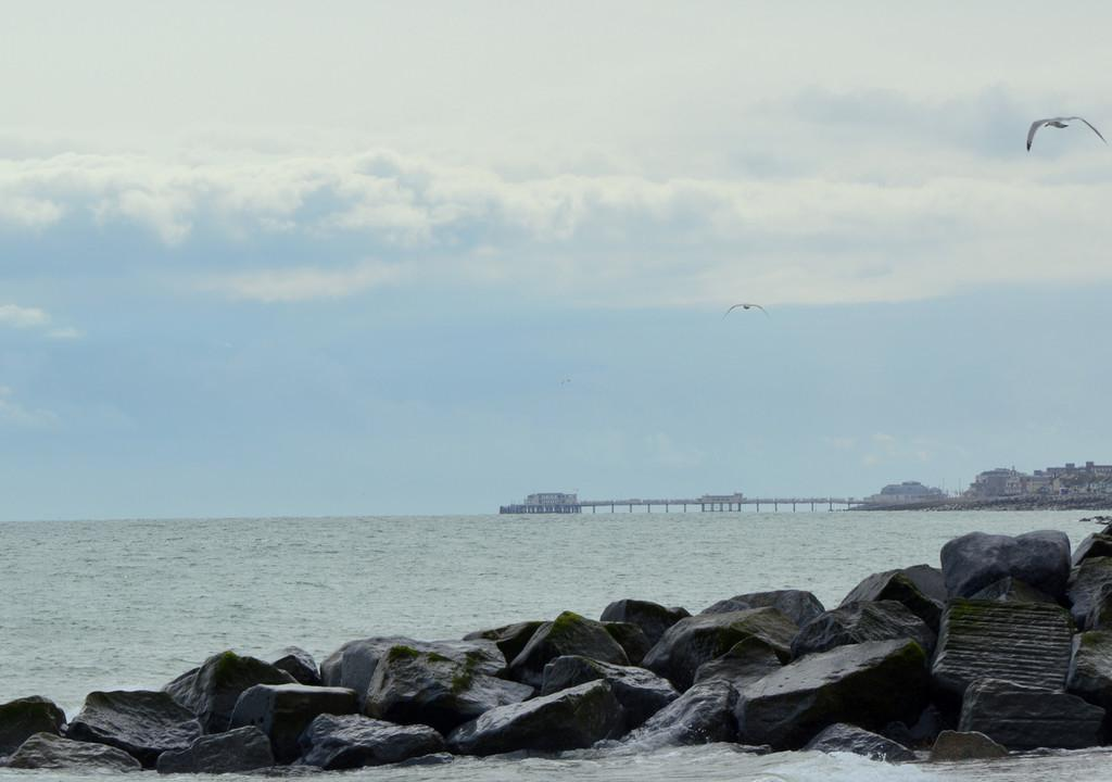 View to Worthing Pier