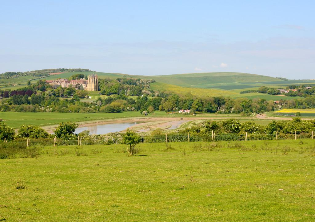 Lancing College and Downs