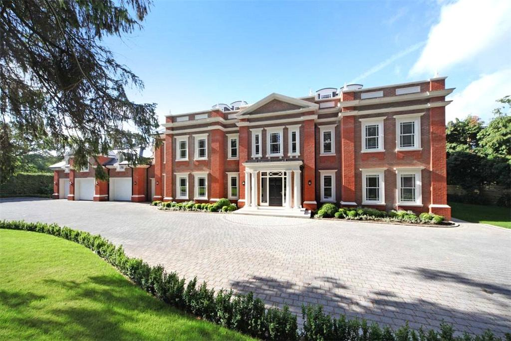 7 Bedrooms Detached House for sale in Woodlands Road East, Wentworth, Virginia Water, Surrey, GU25