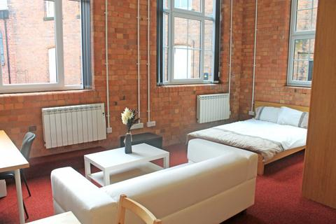 Studio to rent - 106 Lower Parliament Street Flat 13, Byron Works, NOTTINGHAM NG1 1EH